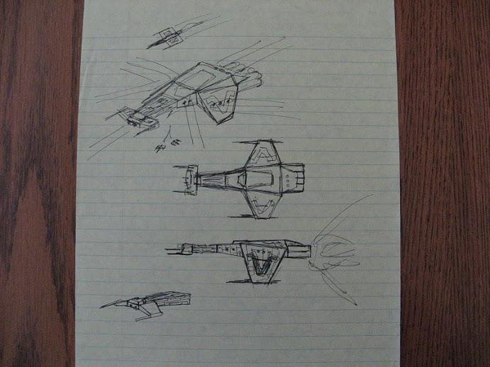 Votainion Warship (Starforgers)